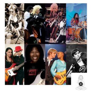 mujeres musicas de sesión