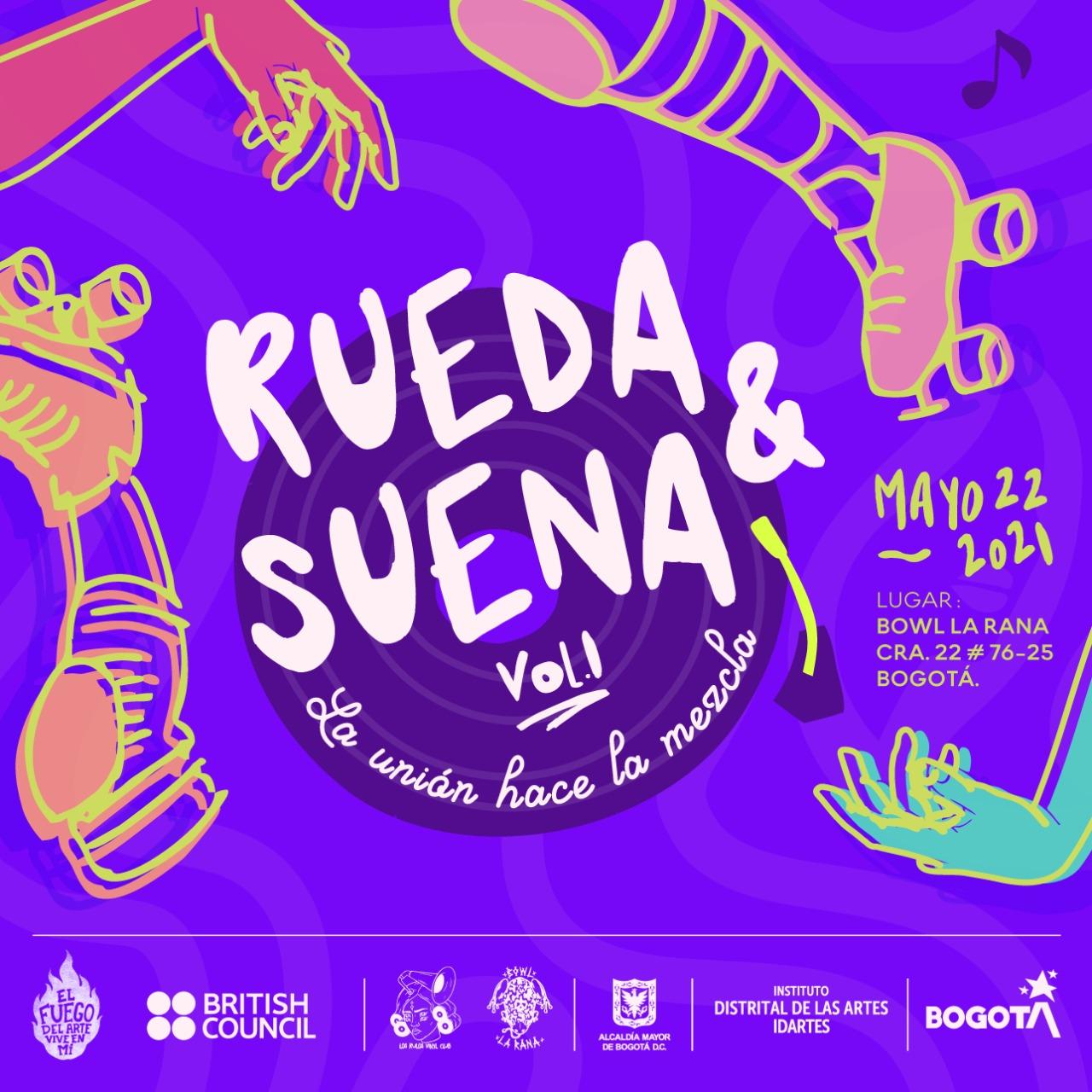 Los Rulos Vinyl Club presenta Rueda y Suena lectora de tracks