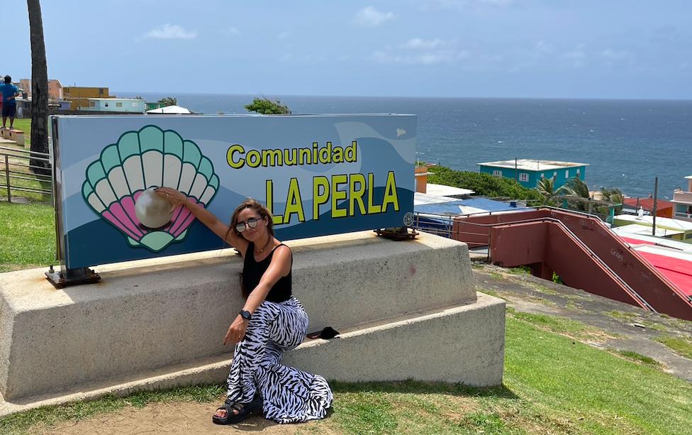 Comunidad La Perla en San Juan de Puerto Rico - Lectora de Tracks