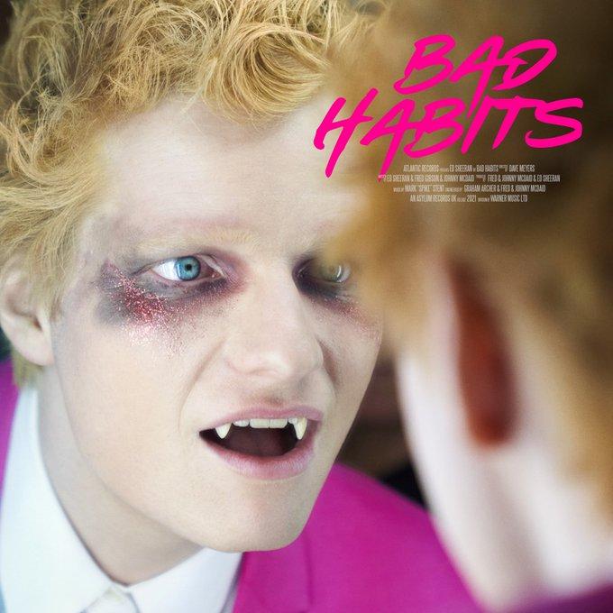 ed-sheeran bad habits regreso lectora de tracks