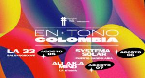 en tono colombia lectora de tracks concierto presencial